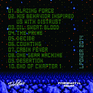 Blazing Force back cover