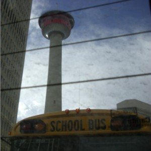 Calgary Tower EP front cover