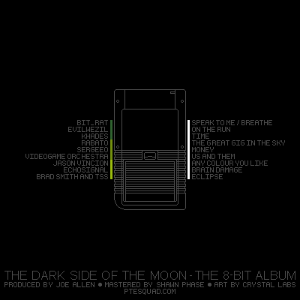 The Dark Side of the Moon - The 8-bit Album back cover