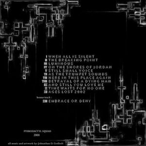 Luminous back cover