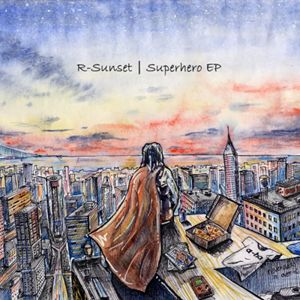 Superhero EP front cover